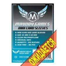 Протекторы для карт MayDay Mini 45x68 (100 шт.)