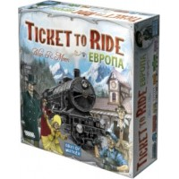 Ticket to Ride Европа (Билет на поезд) рус.