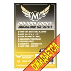 Протекторы для карт MayDay Mini 41x63 (100 шт.)