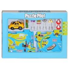 Конструктор Puzzle Pilot Такси (управляемые пазлы)