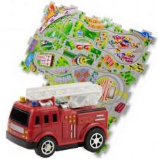 Конструктор Puzzle Pilot Пожарная машина (управляемые пазлы)