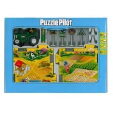 Конструктор Puzzle Pilot Трактор (управляемые пазлы)