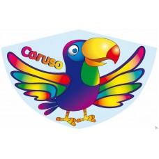 Детский воздушный змей Caruso Попугайчик