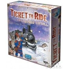 Ticket to Ride. Северные страны (Билет на поезд) рус