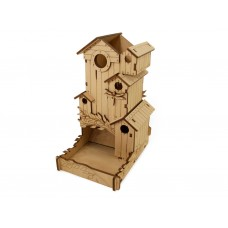 Башня для кубиков. Скворечник (Пение птиц, Dice Tower. Bird Song)