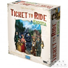 Ticket to Ride: Европа Юбилейное издание, рус