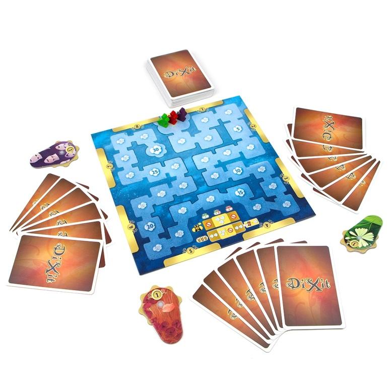 Гра Діксіт, друге видання - партія на 4 гравців, фото