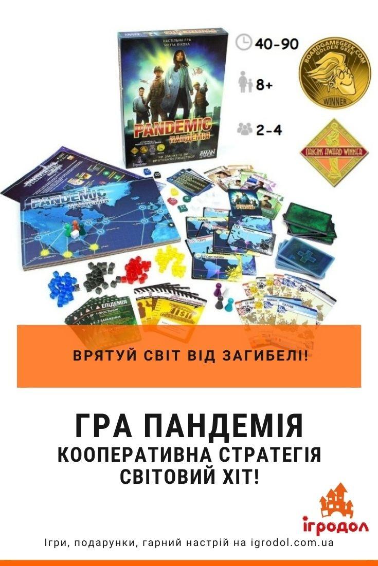 Игра Пандемия украинское издание - фото, обзор | Игродол
